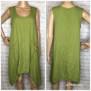Soft Surroundings asymmetrical tunic dress